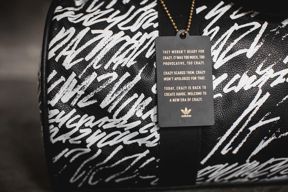 adidas Crazy Duffle Bag back tag