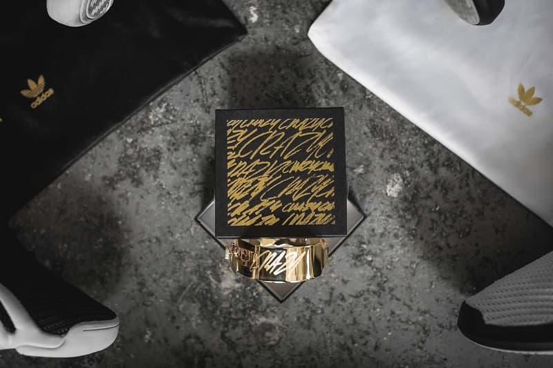 adidas Gold Bracelet
