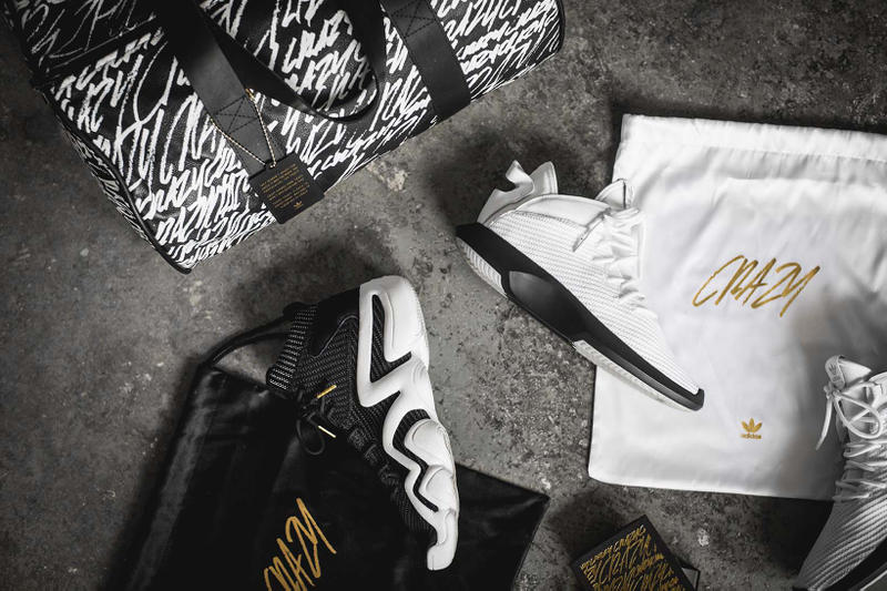 adidas Crazy 8 ADV Crazy 1 ADV Duffle Bag Gold Bracelet