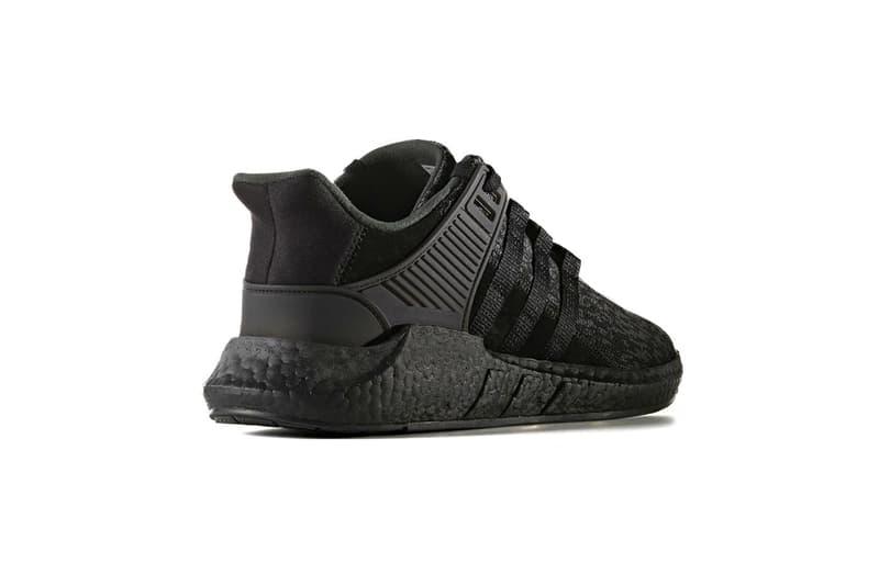 adidas EQT Support 93 17 BOOST Black Friday Triple Black Core Black