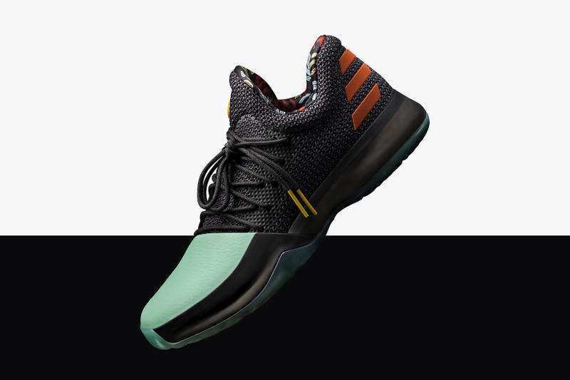 adidas Harden Vol 1 Dame 3 2017 Summer Colorways cactus red white blue damian lillard james basketball sneakers shoes static releases