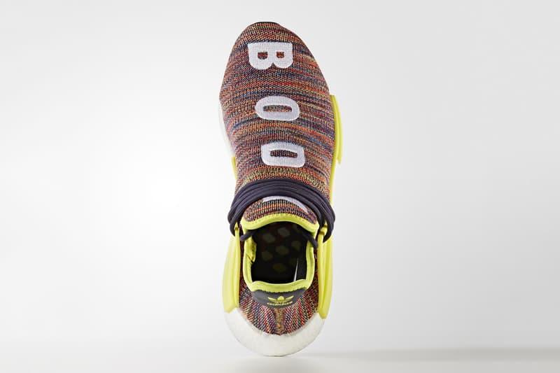 adidas Hu NMD TR Preview Looks originals pharrell williams multicolor multi color knit primeknit