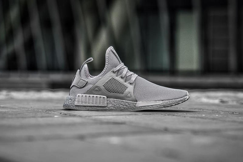 adidas NMD XR1 Silver Boost Footwear Sneakers Running Shoes Colored BOOST Three Stripes