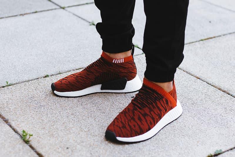 adidas Originals NMD CS2 Glitch Harvest Red