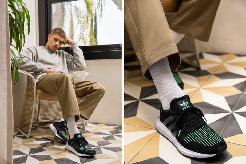 adidas Originals Swift Core Black Grey One Footwear Sneakers Shoes