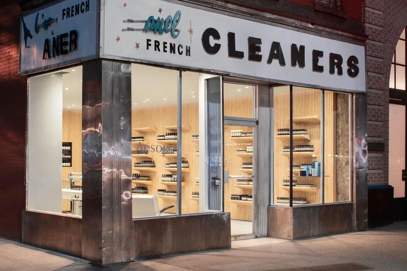 Aesop New York Store French Cleaners
