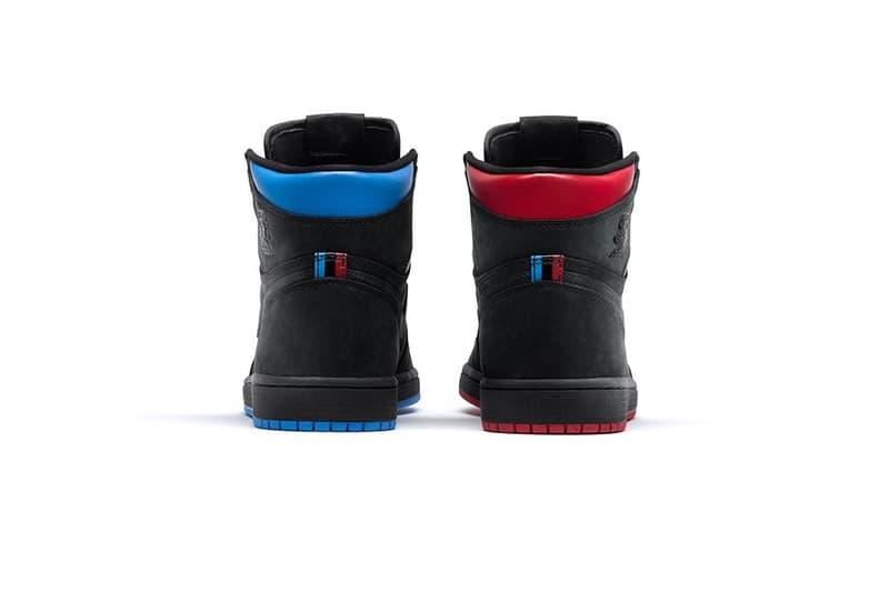 Air Jordan Retro 1 OG High Quai 54 Colorway Paris France Sneakers