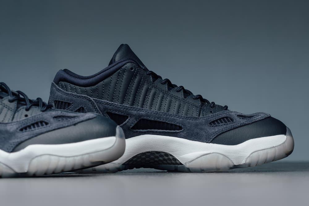 Air Jordan 11 Low IE Obsidian Brand Michael Sneakers Shoes Footwear 2017 July 29 Release Date Info
