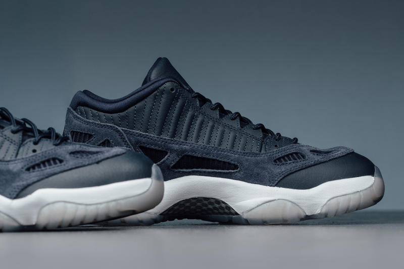 Air Jordan 11 Low IE Obsidian Brand Michael Sneakers Shoes Footwear 2017 July 29 Release Date Info