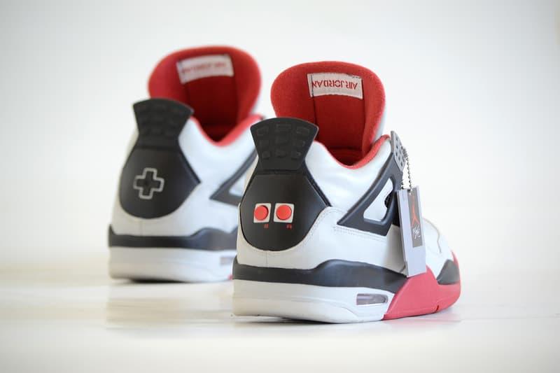 Air Jordan 4 NES Custom FreakerSNEAKS Nintendo Entertainment System  Footwear Shoes Sneakers Super Mario Bros Duck 9874a3a10