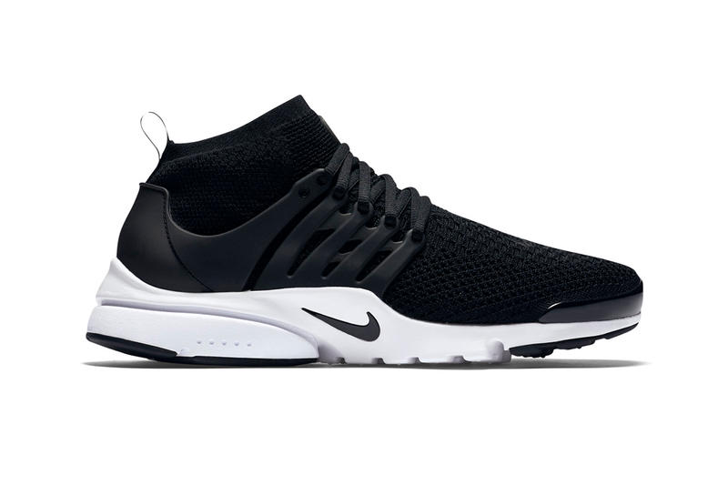 19488c767699 Nike Air Presto Ultra Flyknit Black   White Waffle Sole