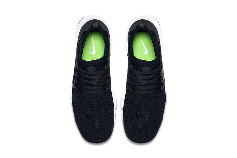 Nike Air Presto Ultra Flyknit Black & White Waffle Sole