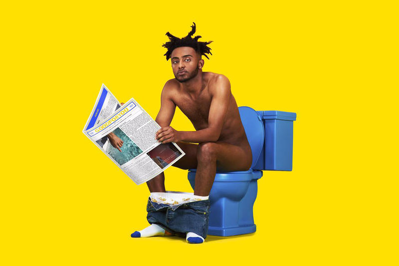 Amine Good For You Album Cover Newspaper Release