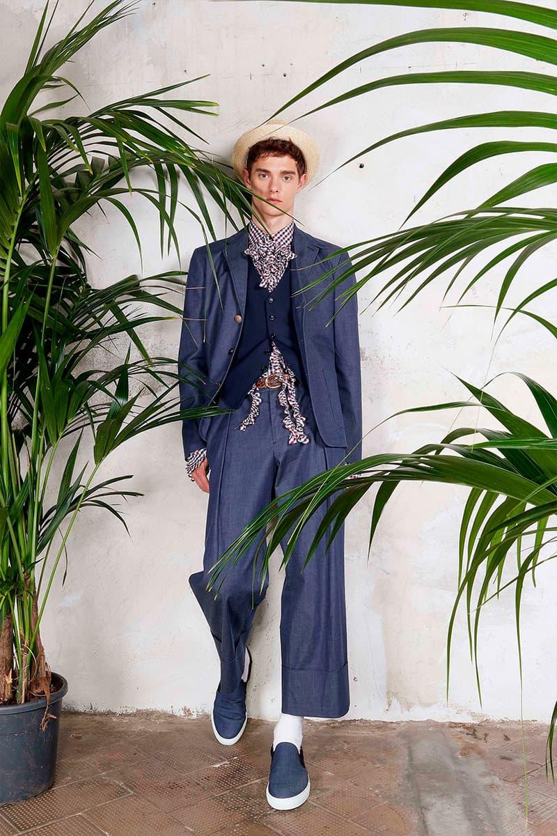 Antonio Marras Lookbook Fashion Apparel Luxury Suiting Accessories Blazers Vests Hats Trousers Pants