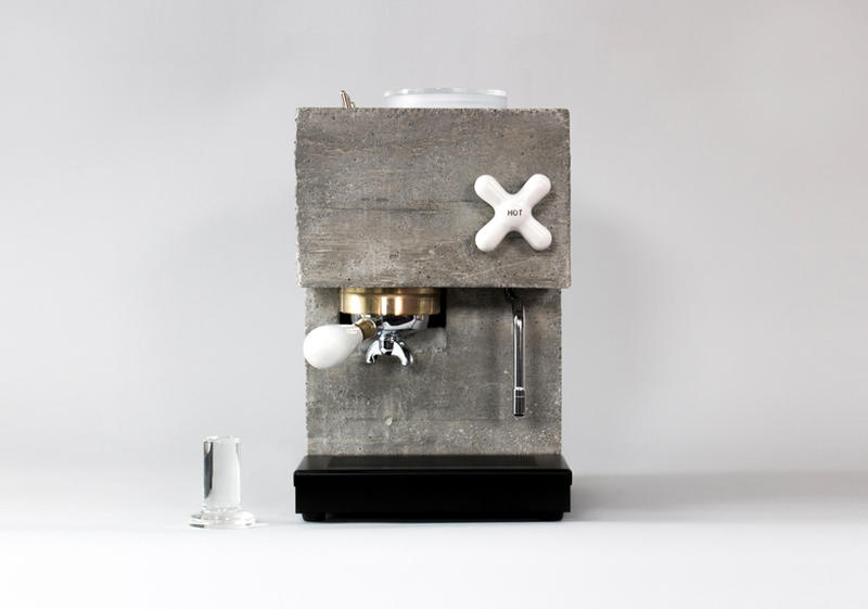 AnZa Brutalist Espresso Machine