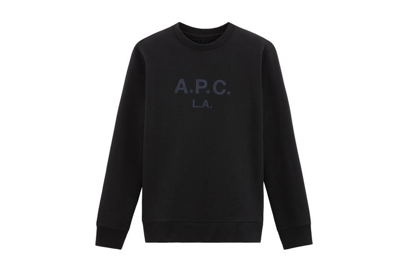 APC 2017 Fall Winter Los Angeles Capsule Collection Downtown LA Silver Lake Melrose Place White Black T Shirt Hoodie Sweatshirt
