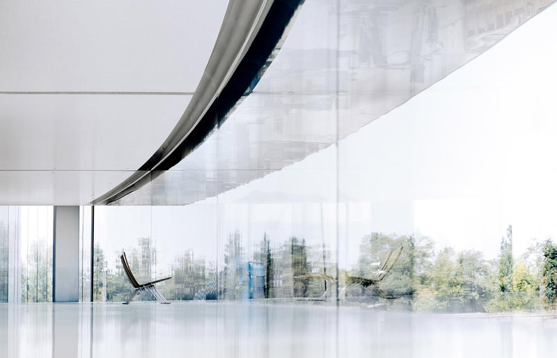 Apple Park Tour Jonathan Ives