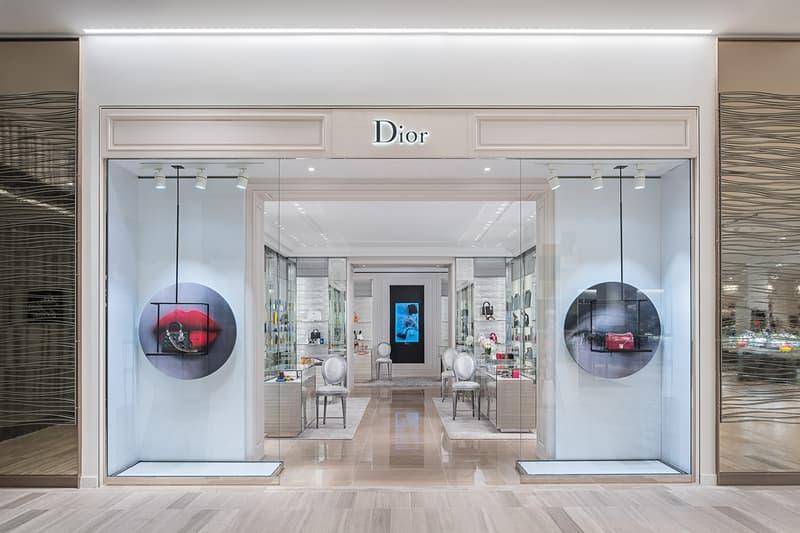 Christian Dior Storefront