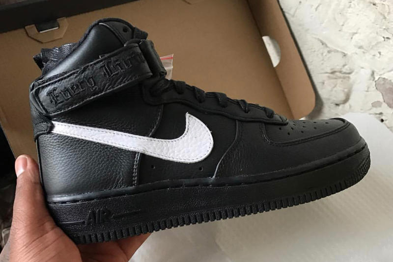 best loved a1c53 fa9c4 A$AP Bari VLONE Nike Air Force 1 London Exclusive Footwear Collaboration