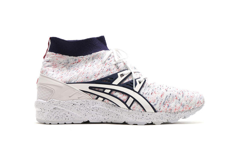 ASICS GEL Kayano Trainer Knit MT White Red Blue