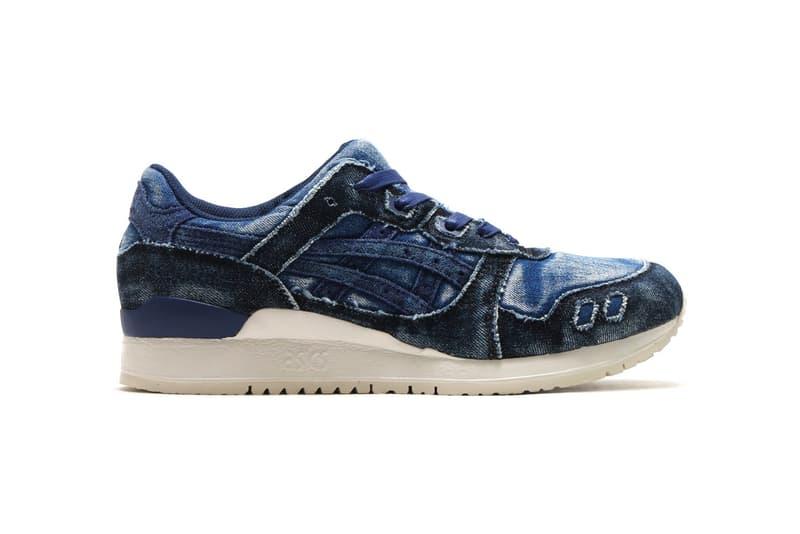 ASICS GEL Lyte III Washed Blue Denim Sneakers Shoes Footwear Summer 2017 July Release Date Info atmos