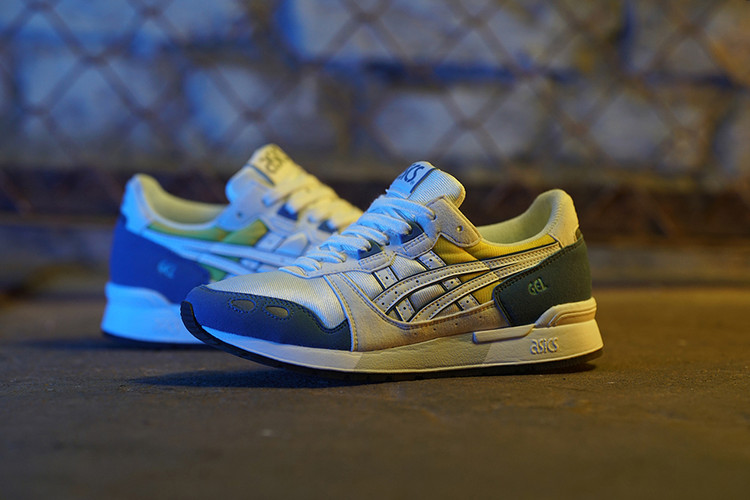 8dc59fcc92 ASICS Releases the GEL-Lyte OG in a Blue and Yellow Colorway