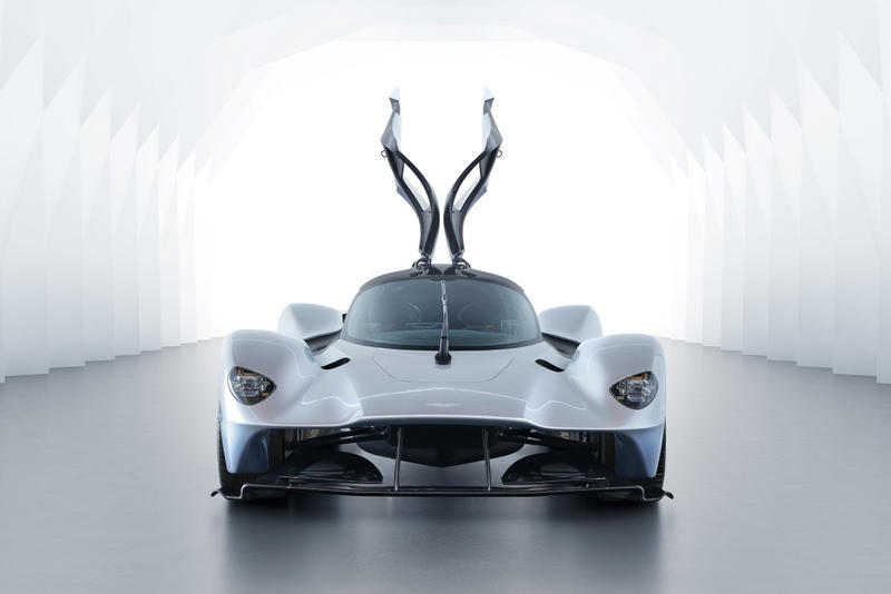 Aston Martin Valkyrie Car Revealed Unveiled Red Bull Racing Hypercar AM RB 001 Exterior Interior