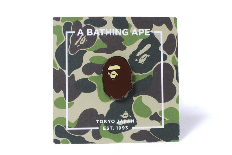 BAPE Ape Head Pin