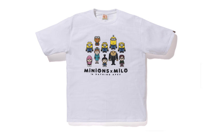 Minions x Baby Milo x BAPE 2017 Collection