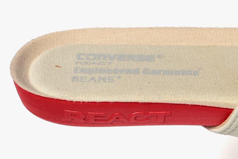 BEAMS x Engineered Garments x Converse Chuck Taylor All Star