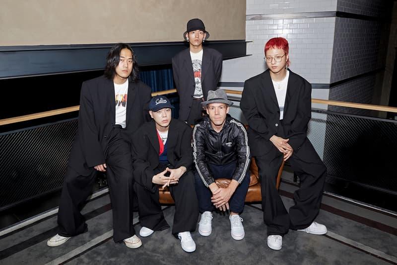 Beats by Dre Luke Wood Hyukoh Interview sit down shot of band
