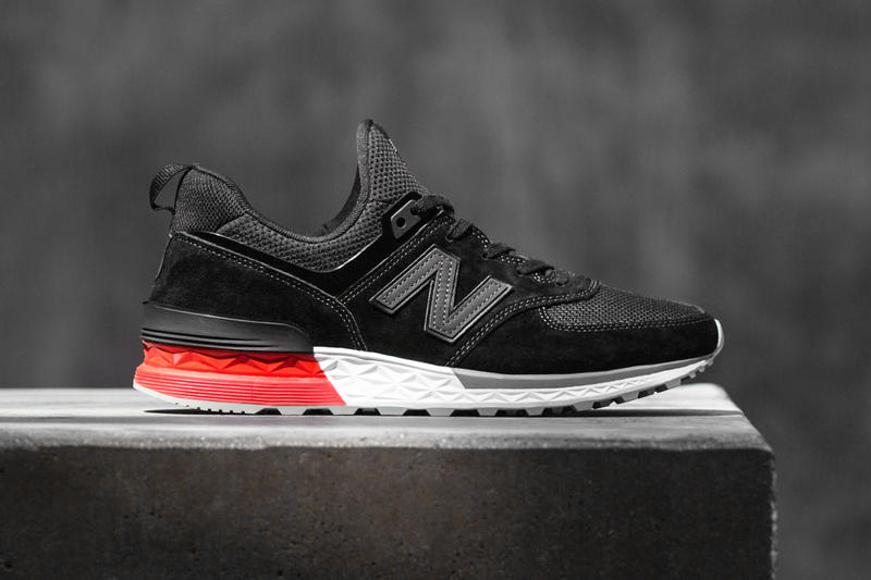 New Balance 574 Sport 574S Black