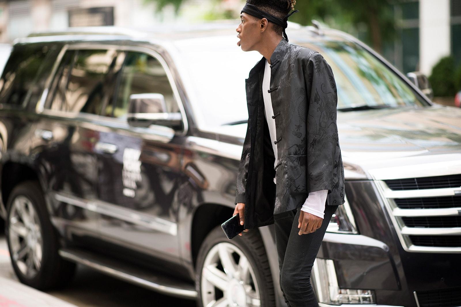New York Fashion Week Men's 2018 Street Style