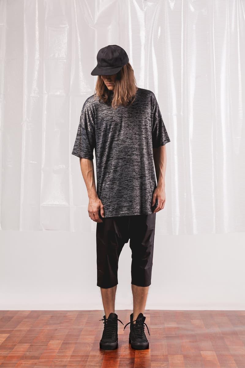 Black Cat Club Publish 2017 Summer Barber Shop Collaboration T Shirt Short Jogger Pants