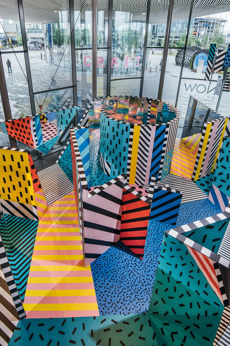 Camille Walala Temple to Wonder NOW Gallery London Art Exhibition 2017 July Summer