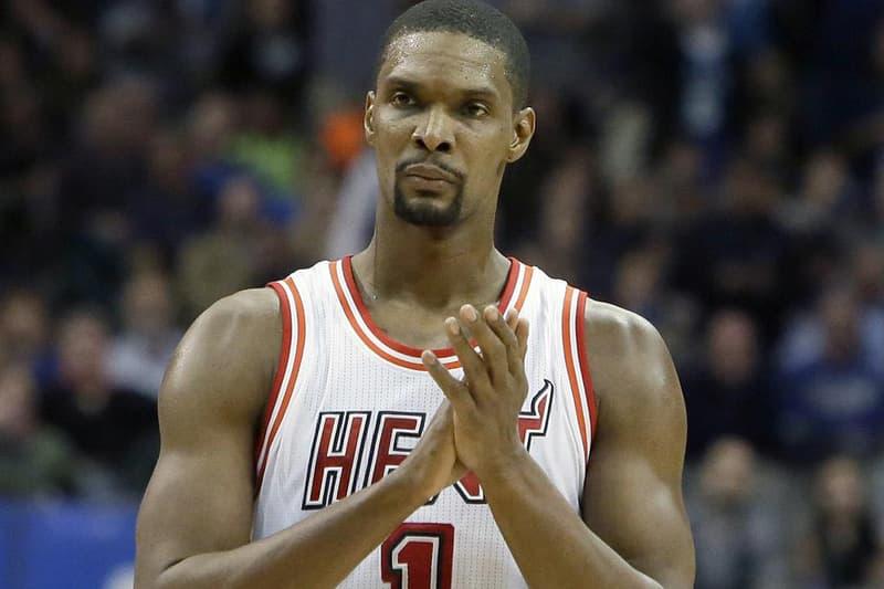 25479ede078 Chris Bosh Parts Ways With Miami Heat