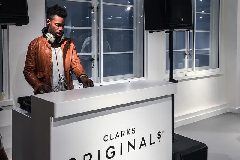 Clarks Originals Trigenic Evo London Launch Party Gaika