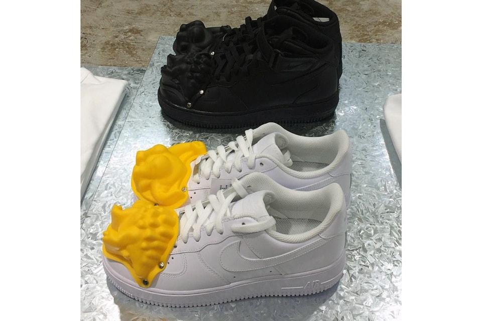 on sale b0491 e3adb COMME des GARÇONS  Custom Nike Air Force 1s Make an Appearance at DSMNY