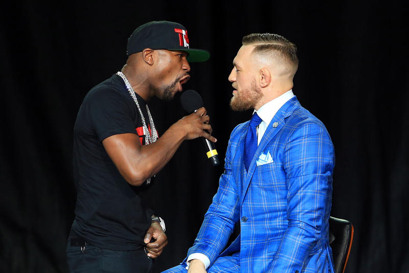 Conor McGregor Suit London Press Conference
