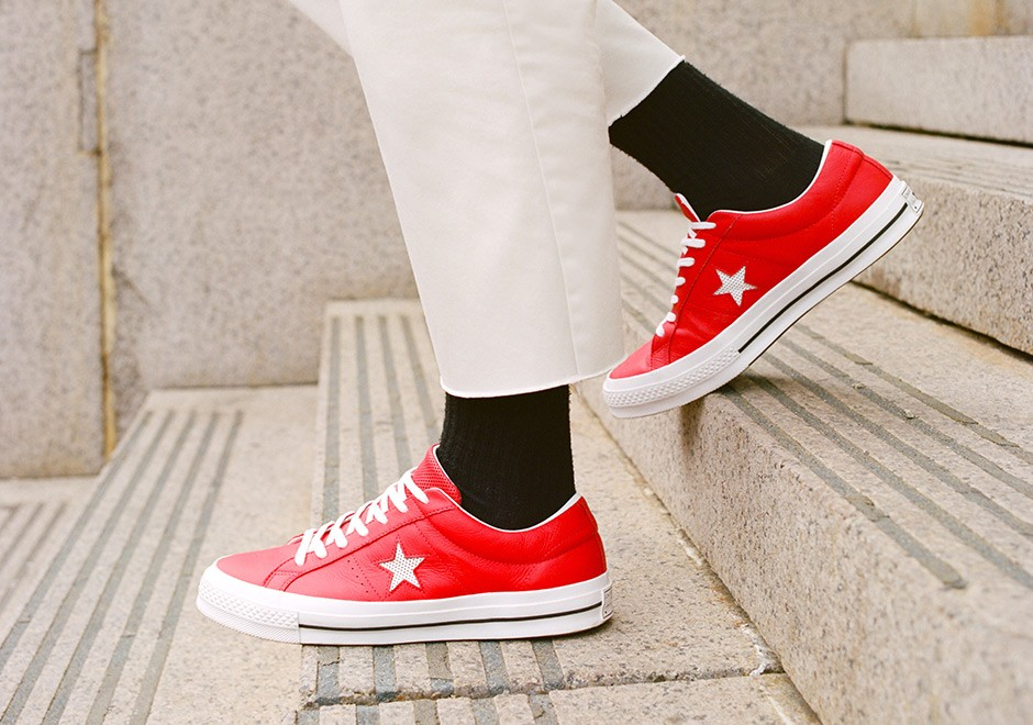 Converse Launches One Star Perforated