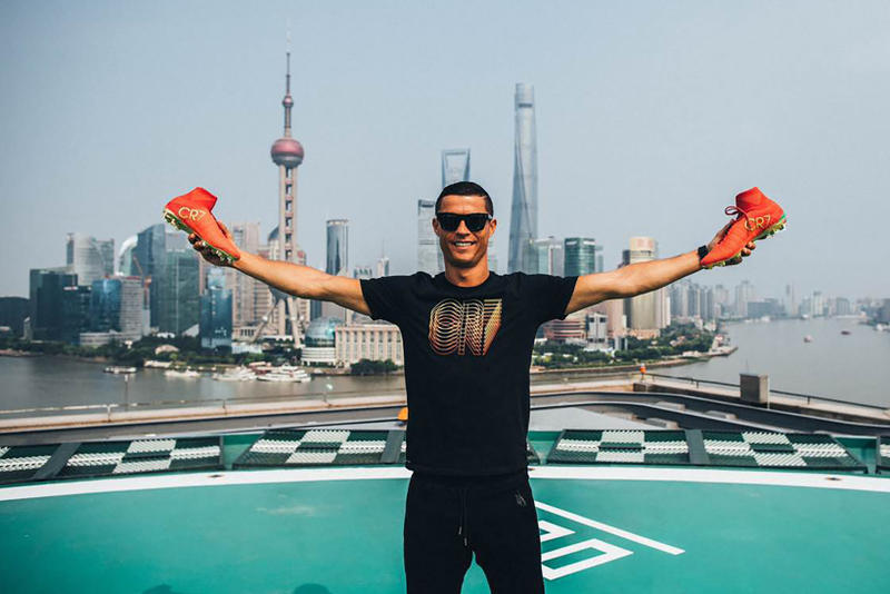 Cristiano Ronaldo Journeys to Shanghai and Beijing for His First Individual Nike CR7 Tour CSL
