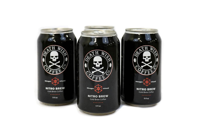 Death Wish Nitro Brew Coffee Now Available in Cans