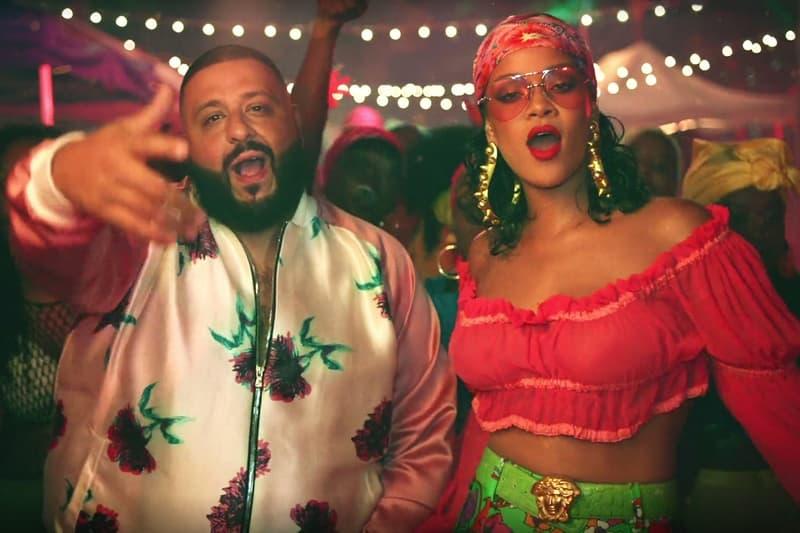 DJ Khaled Rihanna Bryson Tiller Wild Thoughts Platinum