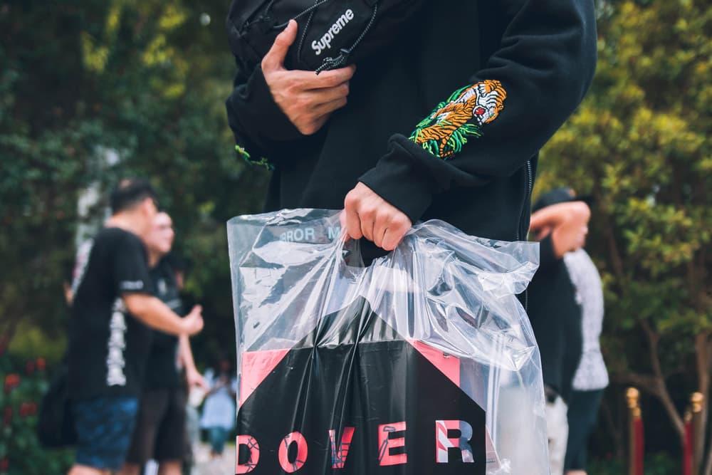 Street Style Dover Street Market Singapore Opening snaps photos photography dsm dsms fashion streetwear