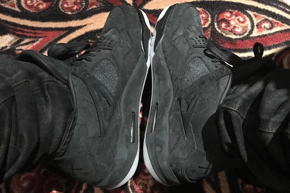 f3a26c9aecddab Drake Wears KAWS x Air Jordan 4