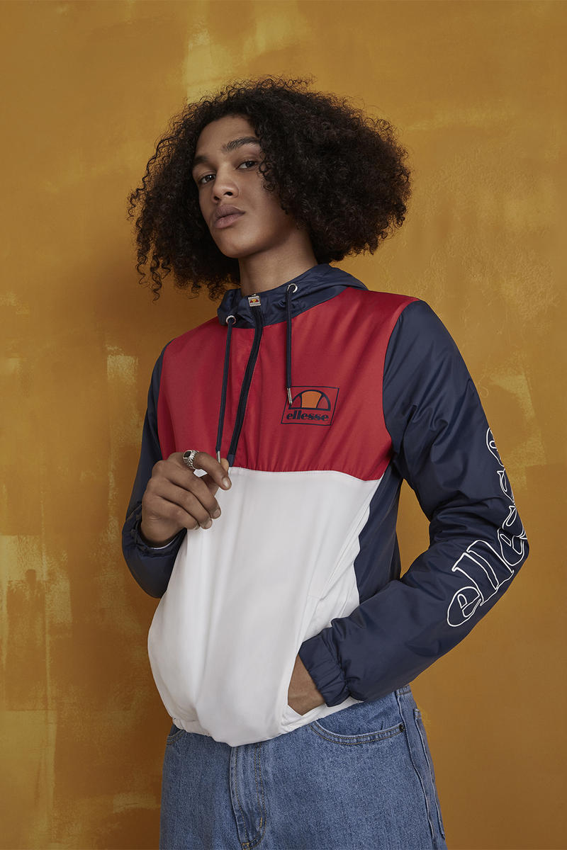 Ellesse 2017 Fall Winter Heritage Collection 90s Hero Badged Up Earthed Midnight Essentials Oro 2017 August