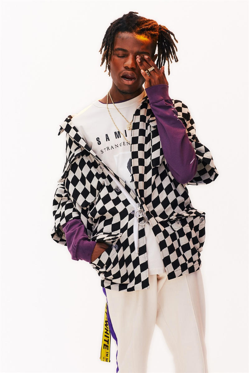Hip-Hop and Fashion Editorial with Ian Connor