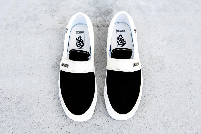Fear of God x Vans Classic Slip-On