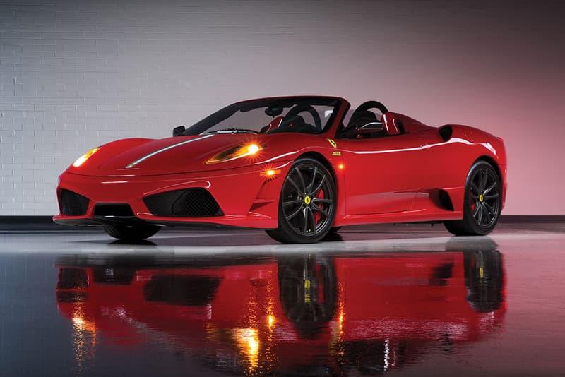 Ferrari Performance Collection Auction RM Sothebys Car Red Scuderia Spider Berlinetta GTB GTS Stradale 430 512 Scaglietti F40
