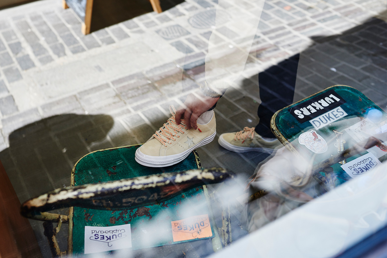Foot Patrol x Converse One Star Sneaker Launch at Duke's Cupboard Ned Milo